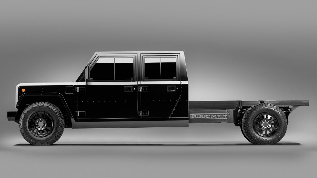 Profile pic of the Bollinger Motors B2 Chassis Cab