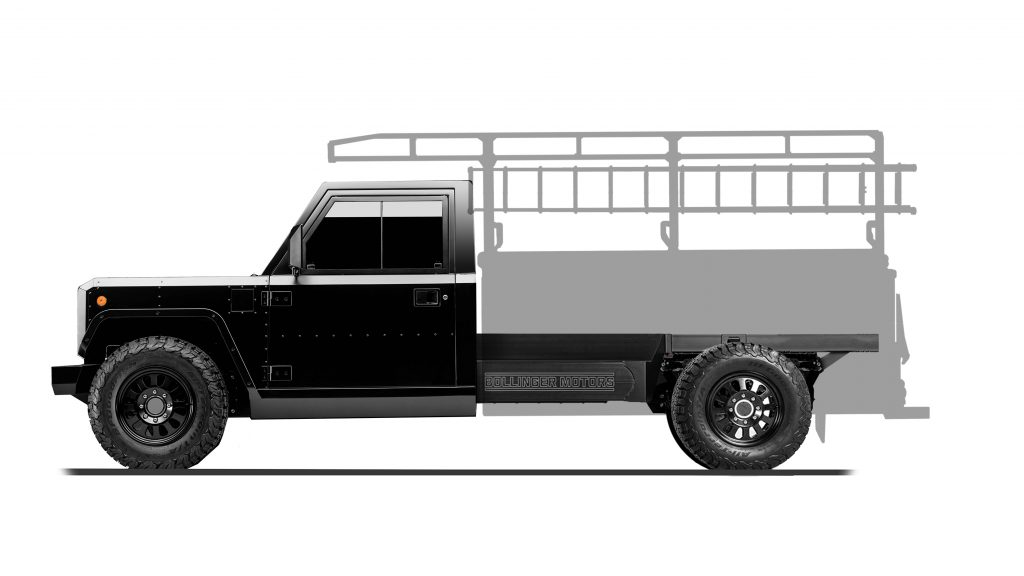 Contractor Bed Configuration of B2 Chassis Cab