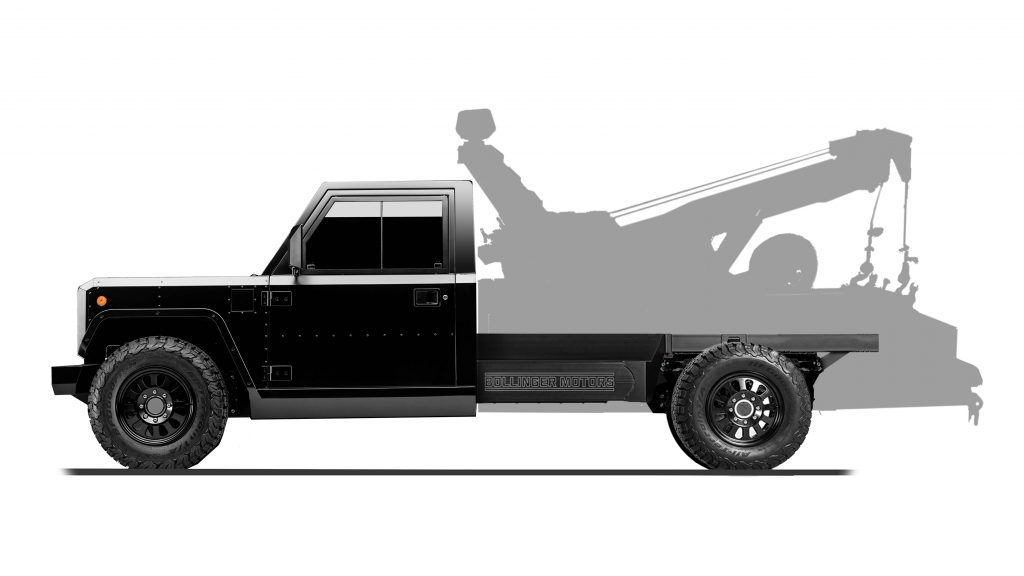Tow Truck Configuration for B2 Chassis Cab