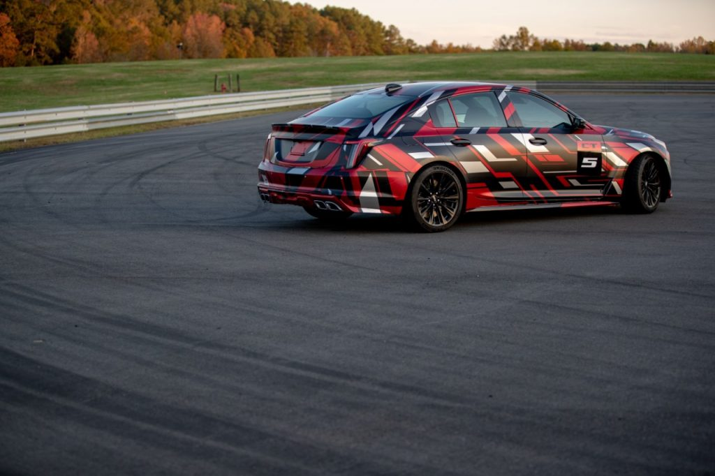 Cadillac CT5-V Blackwing prototype
