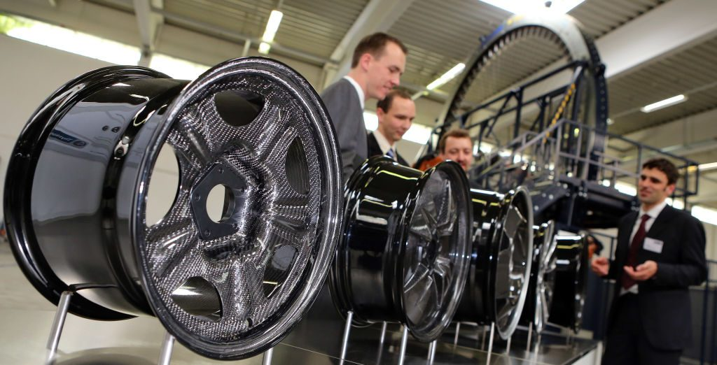 Carbon fiber wheels