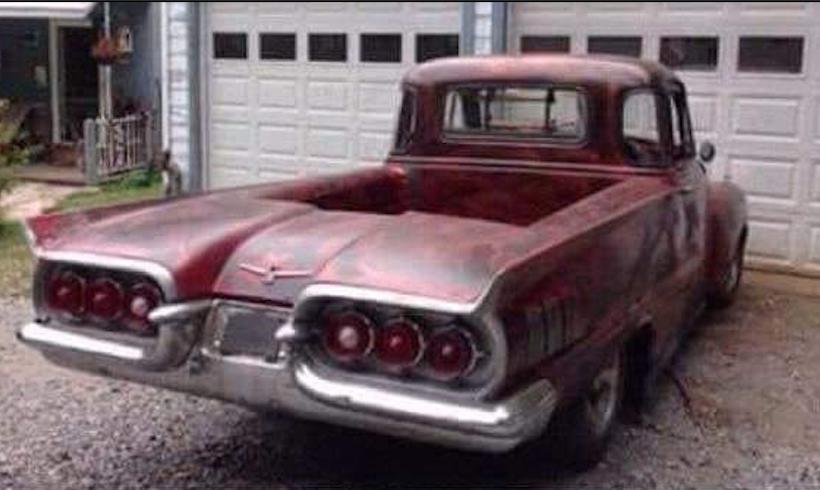 Freak Show Friday pickup Thunderbird mash up-