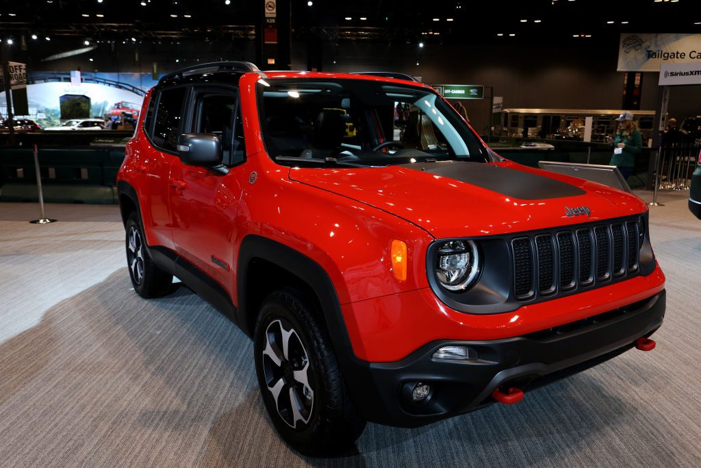 Jeep Renegade on Display