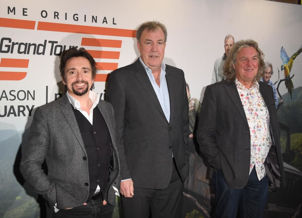 The three presenters of The Grand Tour