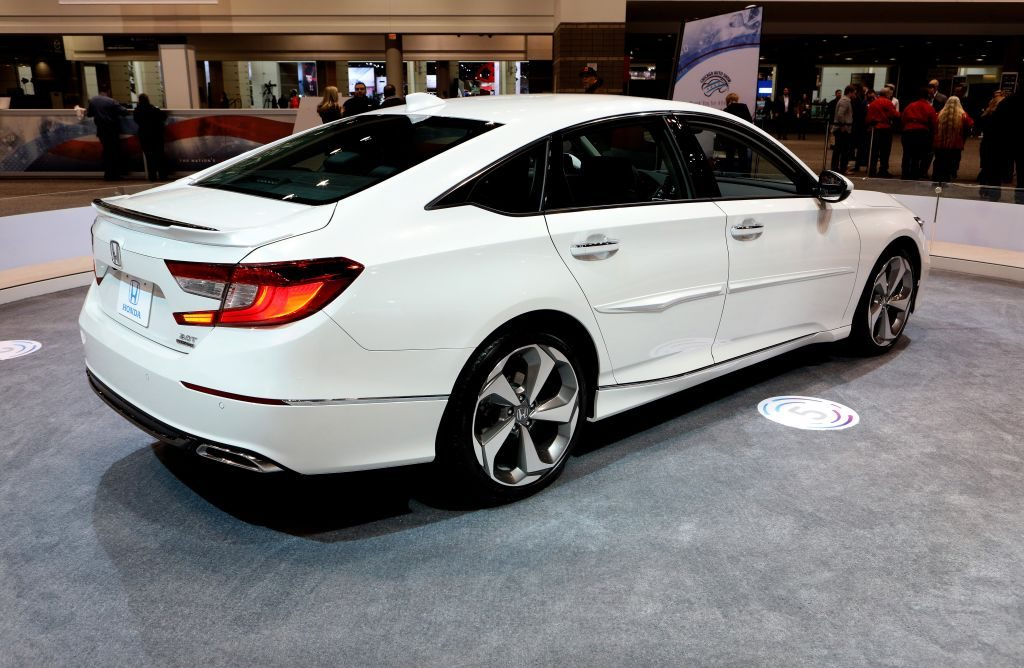 2018 Honda Accord is on display at the 110th Annual Chicago Auto Show