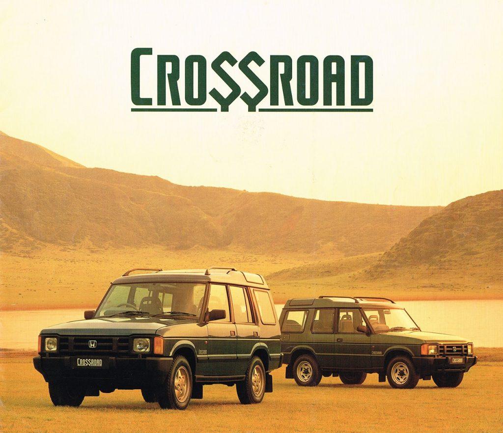 Honda Crossroad ad