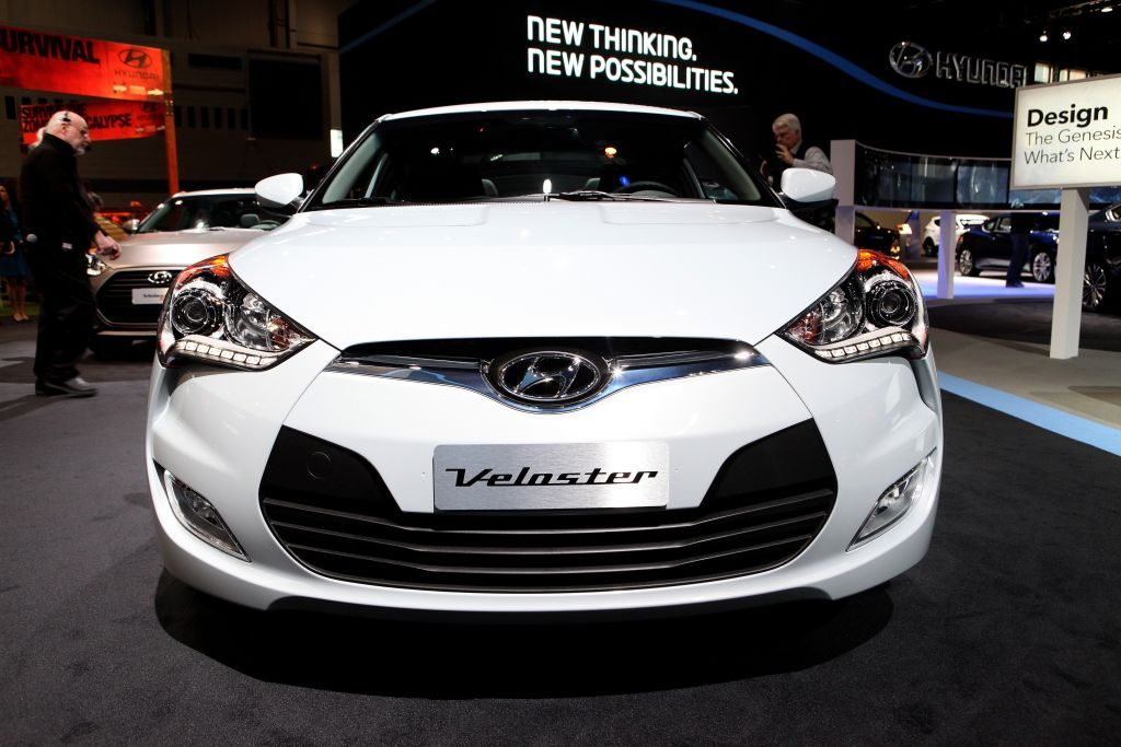 2014 Hyundai Veloster, at the 106th Annual Chicago Auto Show