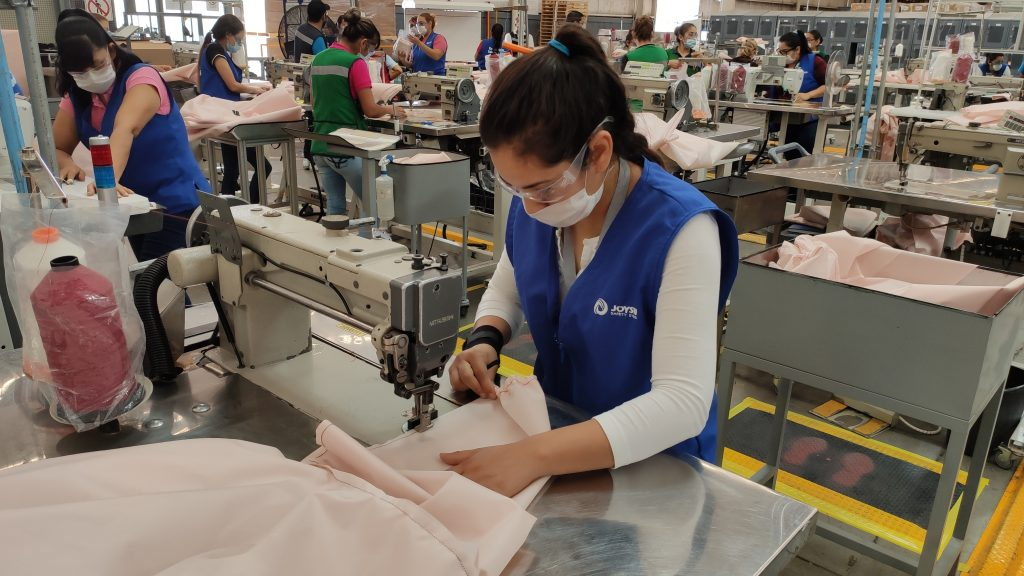 Airbags being converted to re-usable gowns