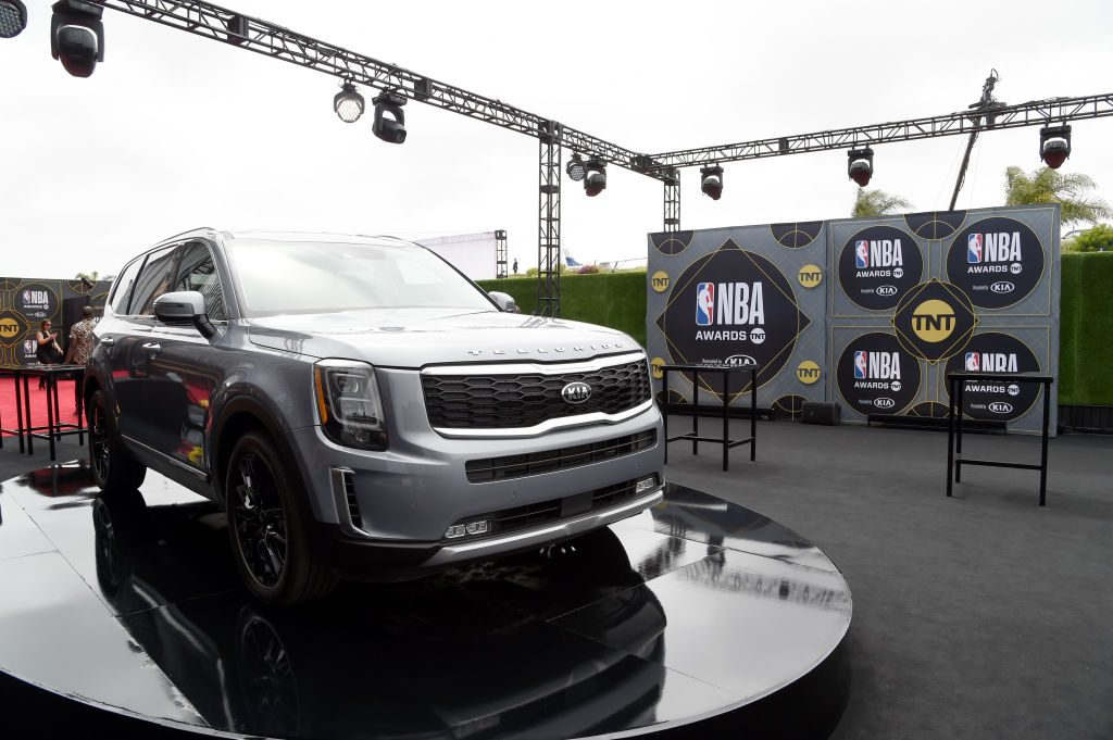Kia Telluride is seen during the 2019 NBA Awards presented by Kia on TNT