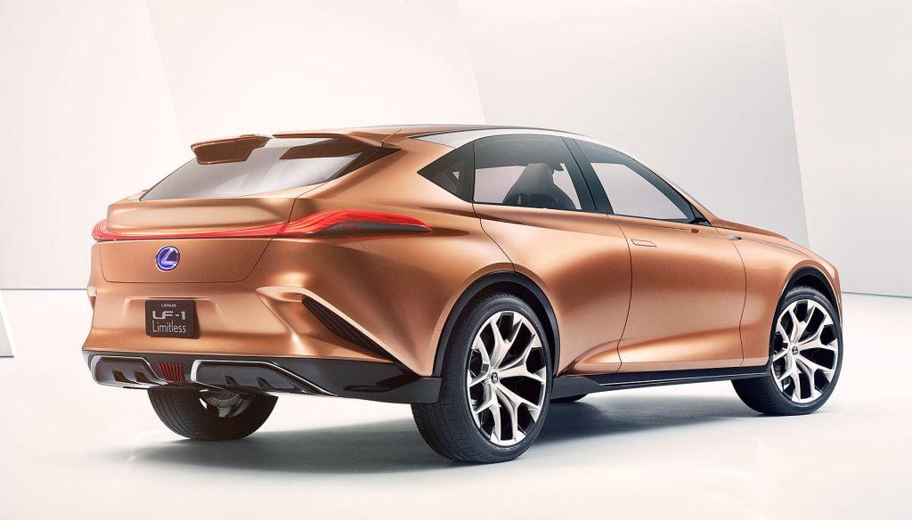Lexus LF-1 Limitless crossover concept | Lexus