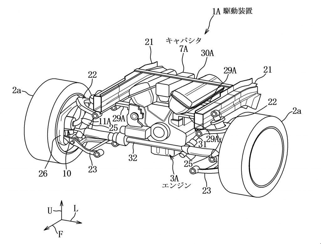 Mazda piston hybrid patent drawing