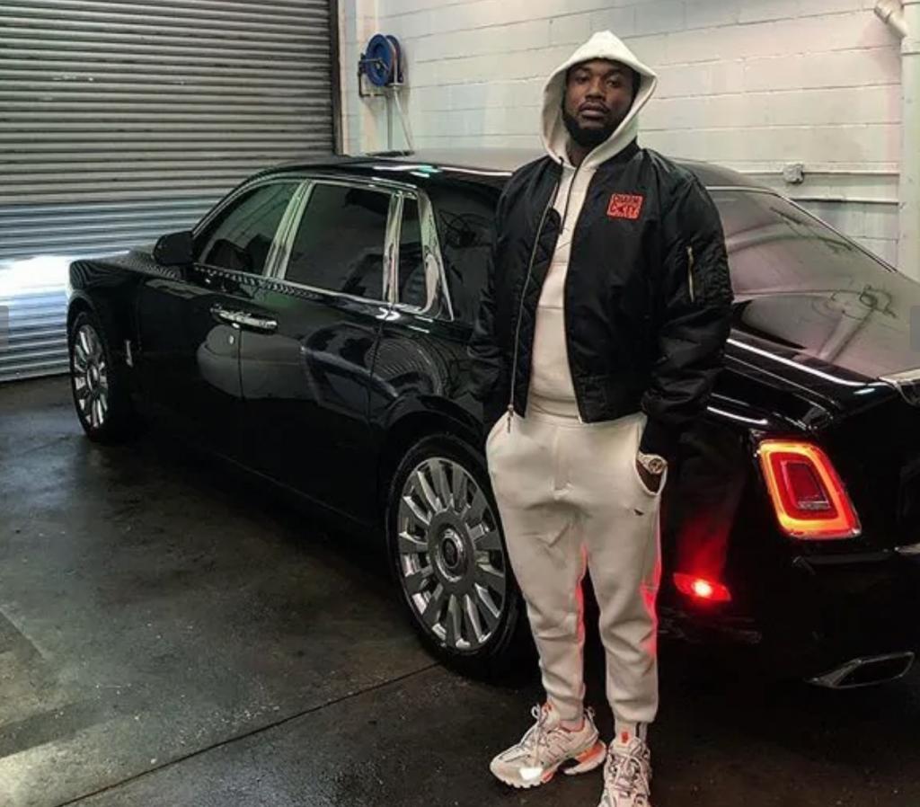 Meek Mills 2018 Rolls Royce Phantom | All-In Challenge