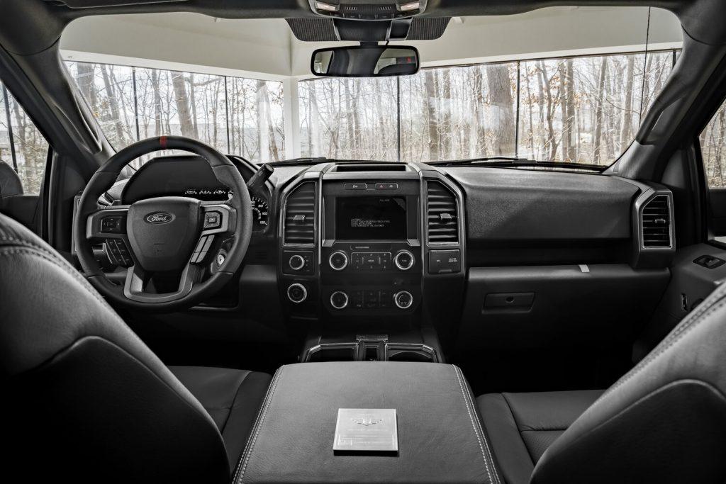 Mil-Spec Ford F150 interior