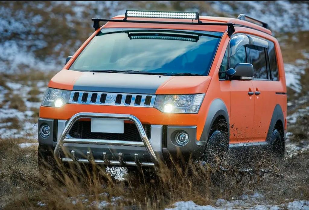 Mitsubishi Delica Off-Road conversion | Platinum