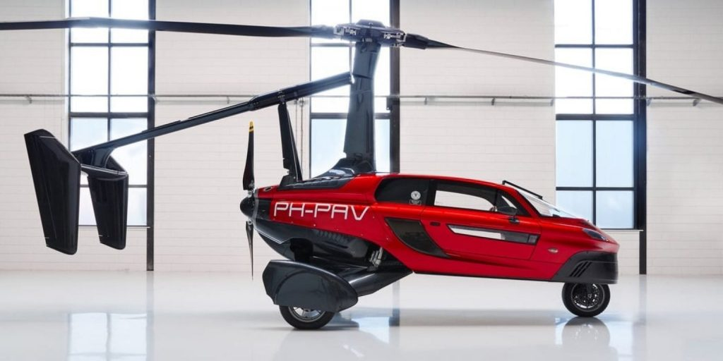 Pal-V Liberty flying car aerocar | Pal-V-