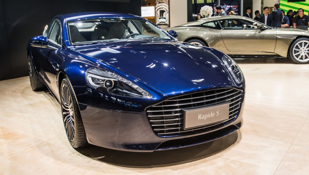The Rapide S Is A Four Door Aston Martin