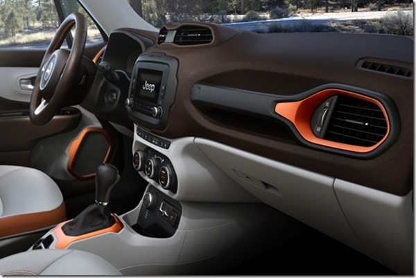 Jeep Renegade Interior | FCA