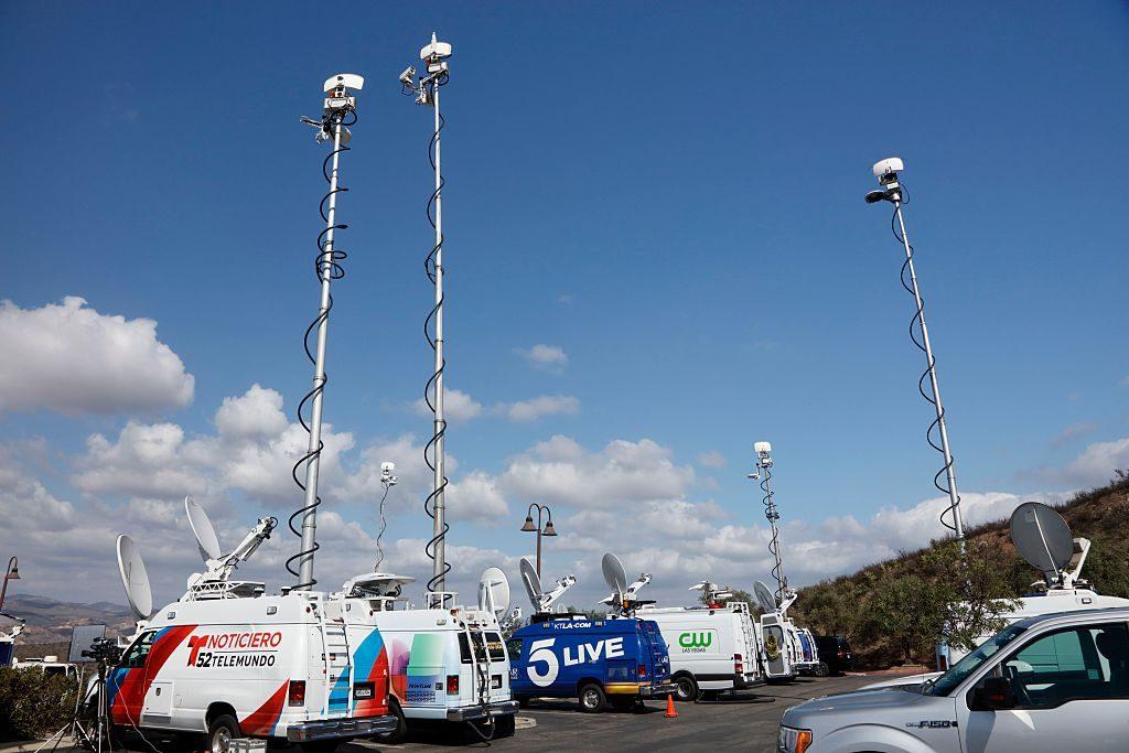 Satellite Broadcast Vans