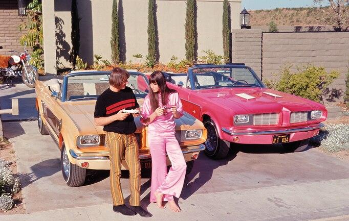 Sonny and Cher Custom Mustangs