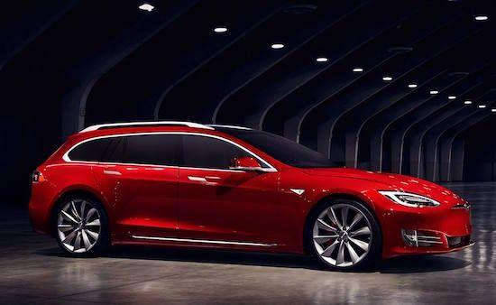 Tesla Club Italy station wagon | Tesla Club