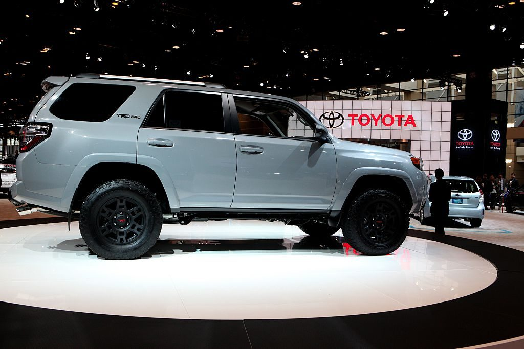 2016 Toyota TRD Pro 4Runner is on display at the 108th Annual Chicago Auto Show at McCormick Place