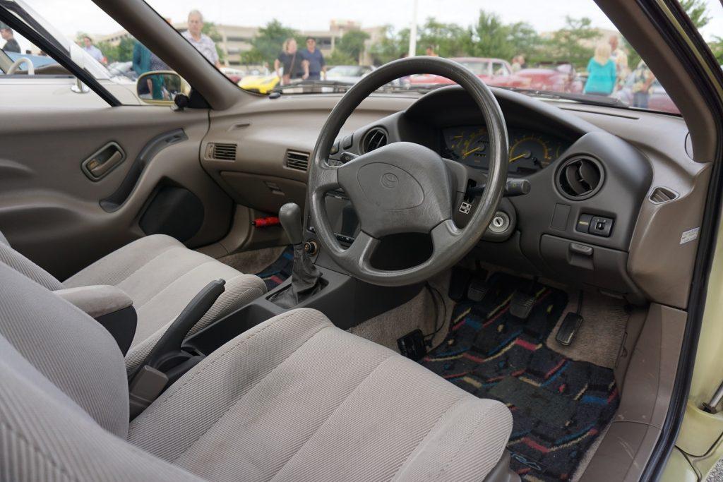 Toyota Sera interior