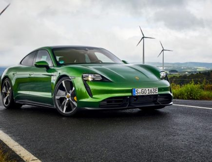 How the 2020 Porsche Taycan Did in MotorTrend's Car of the Year Competition