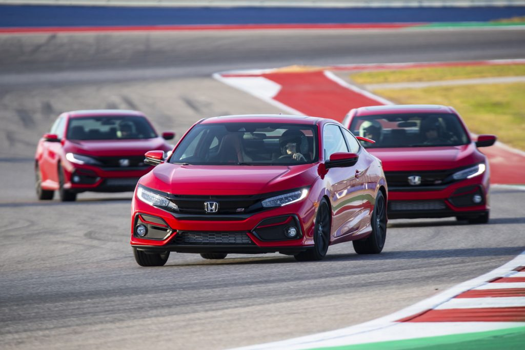 2020 Honda Civic Si at COTA | Honda