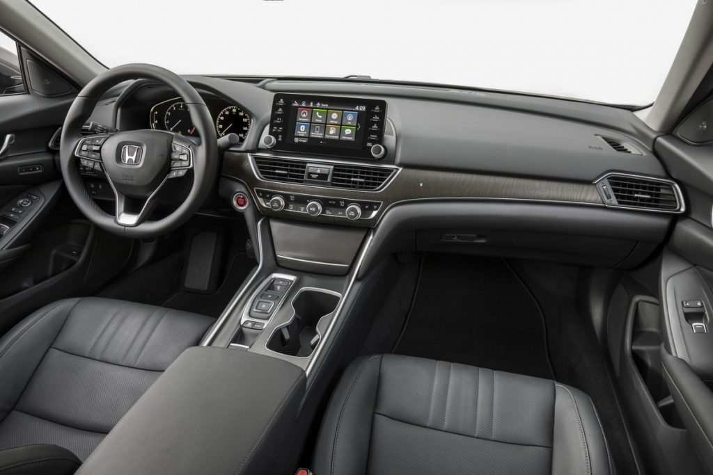The Accord has a upscale and comfortable interior.