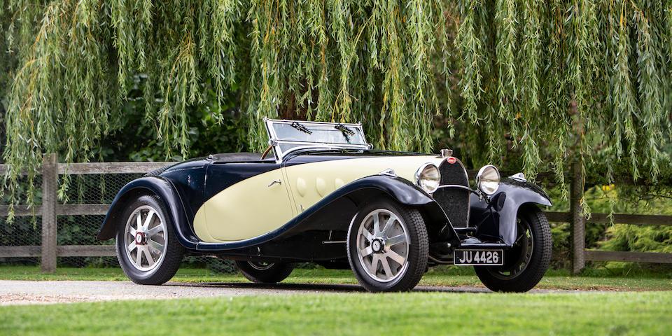 1931 Bugatti Type 55 Two-Seat Supersport