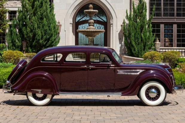 1935 Chrysler Imperial Airflow Profile at Bringatrailer Auction