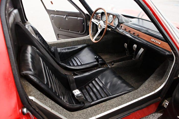 1964 Porsche 904 Carrera GTS Interior