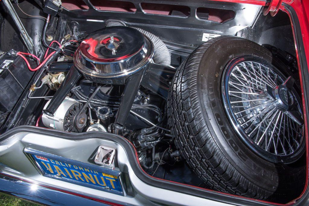 1965 Chevrolet Corvair Corsa spare tire