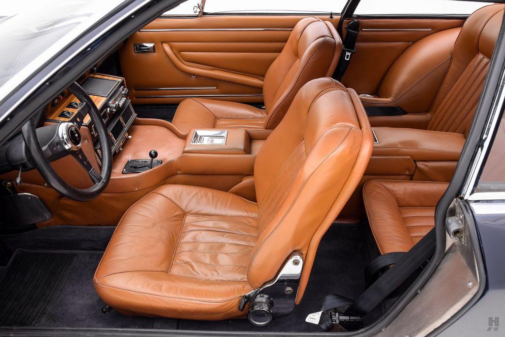 1970 Monteverdi 375L interior
