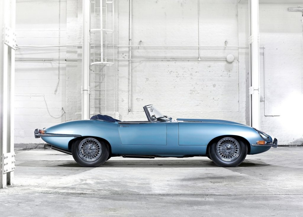 1971 Jaguar E-Type side