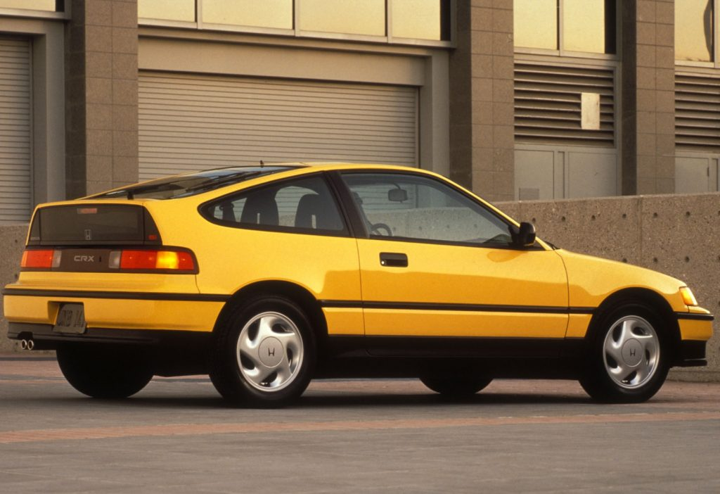 1989 Honda Civic CRX Si rear