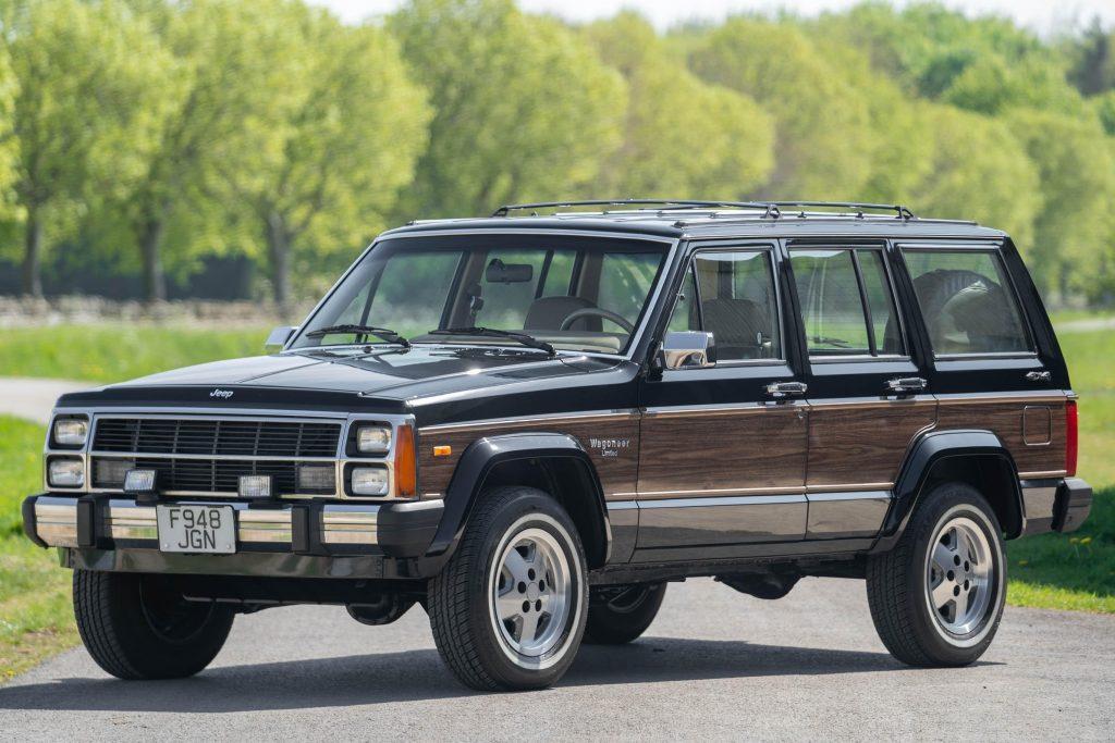 1989 Jeep Cherokee Wagoneer Limited