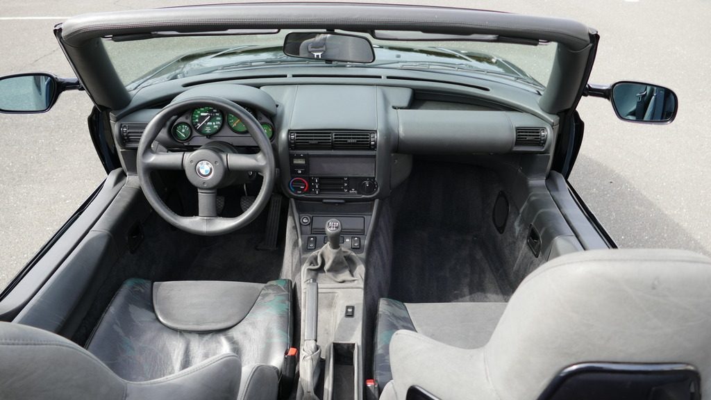 1990 BMW Z1 Roadster Convertible Interior - Bringatrailerdotcom