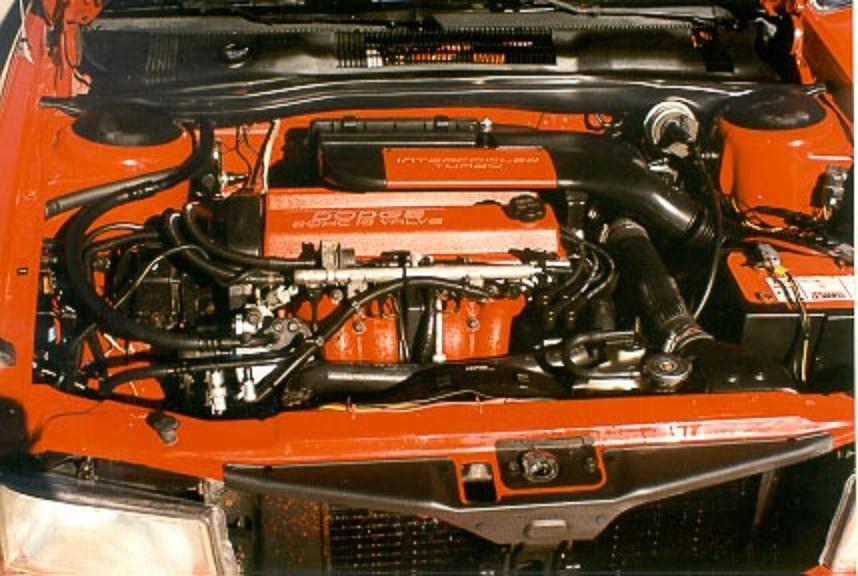 1991 Dodge Spirit R/T engine