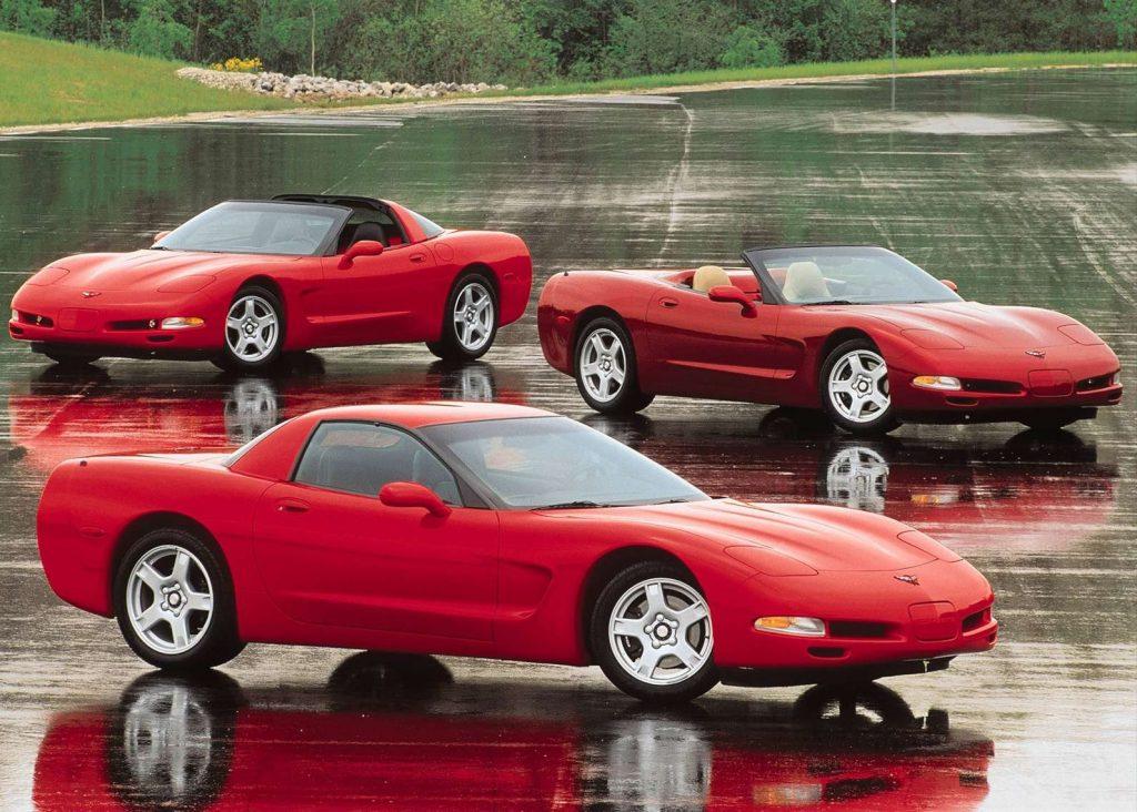 1997 Chevrolet C5 Corvette lineup