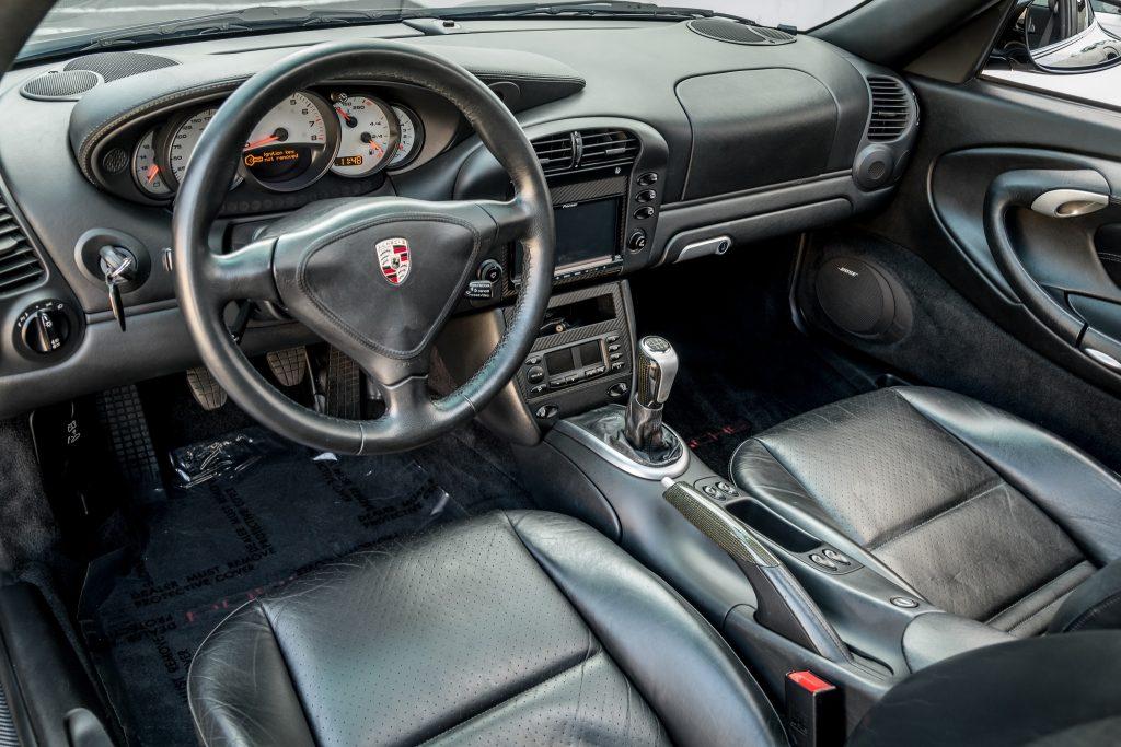 2003 Porsche 911 996 Turbo interior