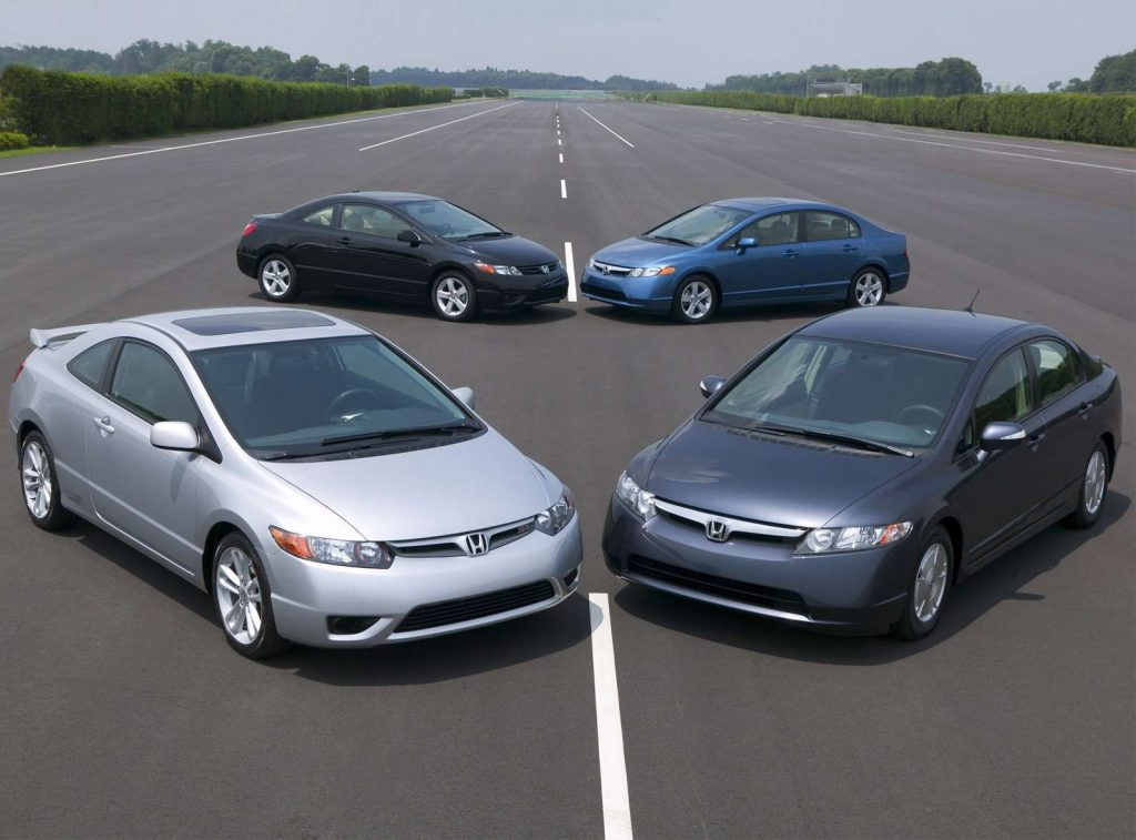 2006 Honda Civic lineup