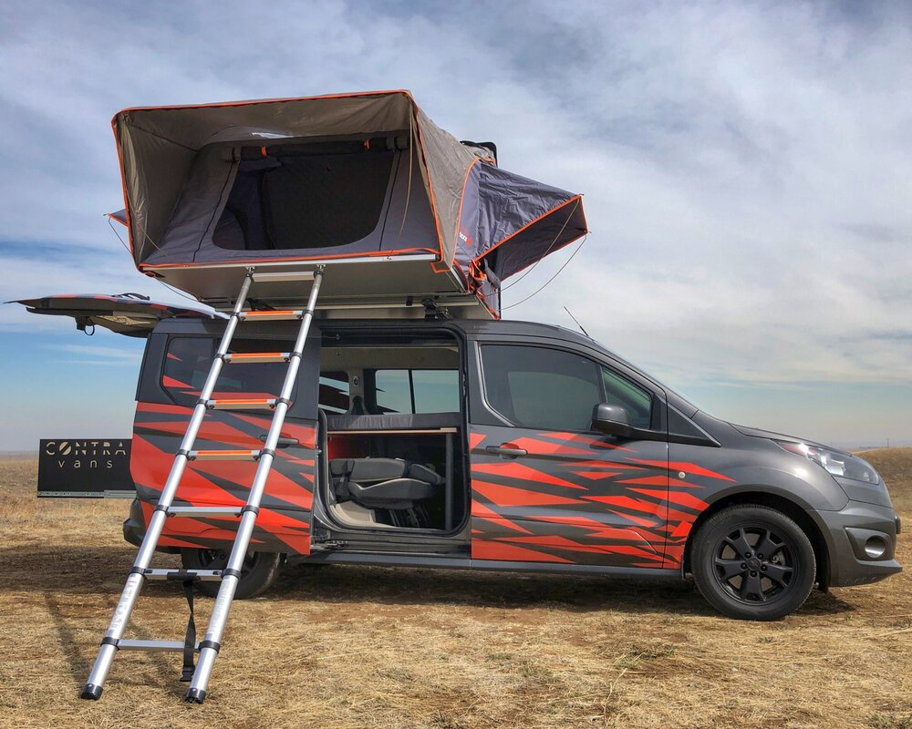 2015 Ford Transit Connect Family Campervan Profile Pic