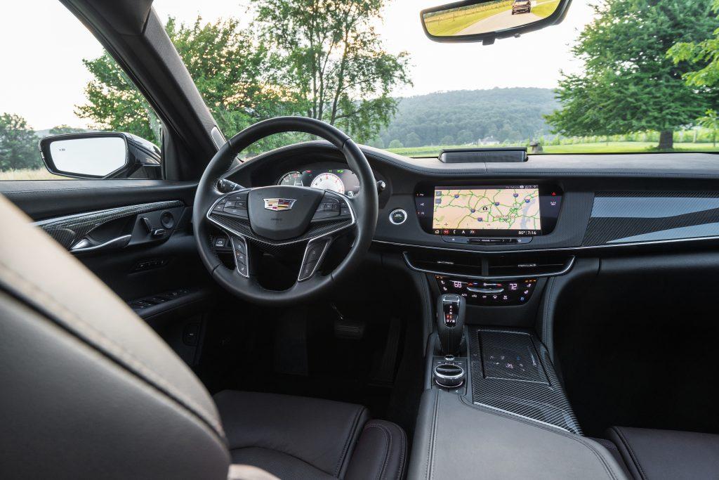 The 2020 Cadillac Ct6 V Has Luxury And V8 Power