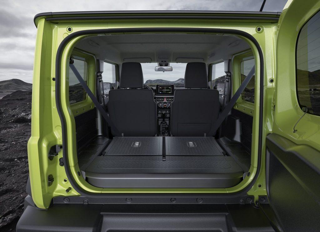 2019 Suzuki Jimny rear area