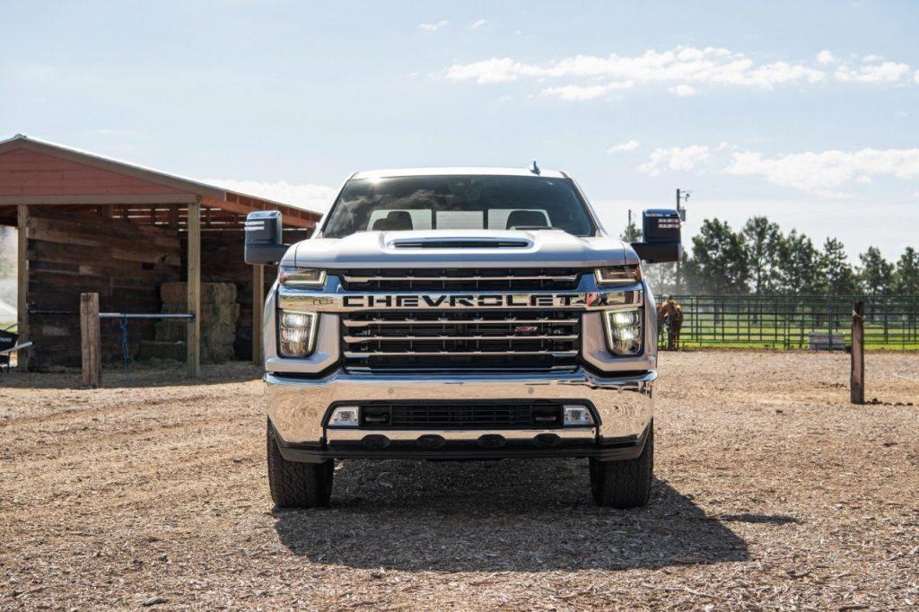 Chevrolet/Chevy Silverado on a farm