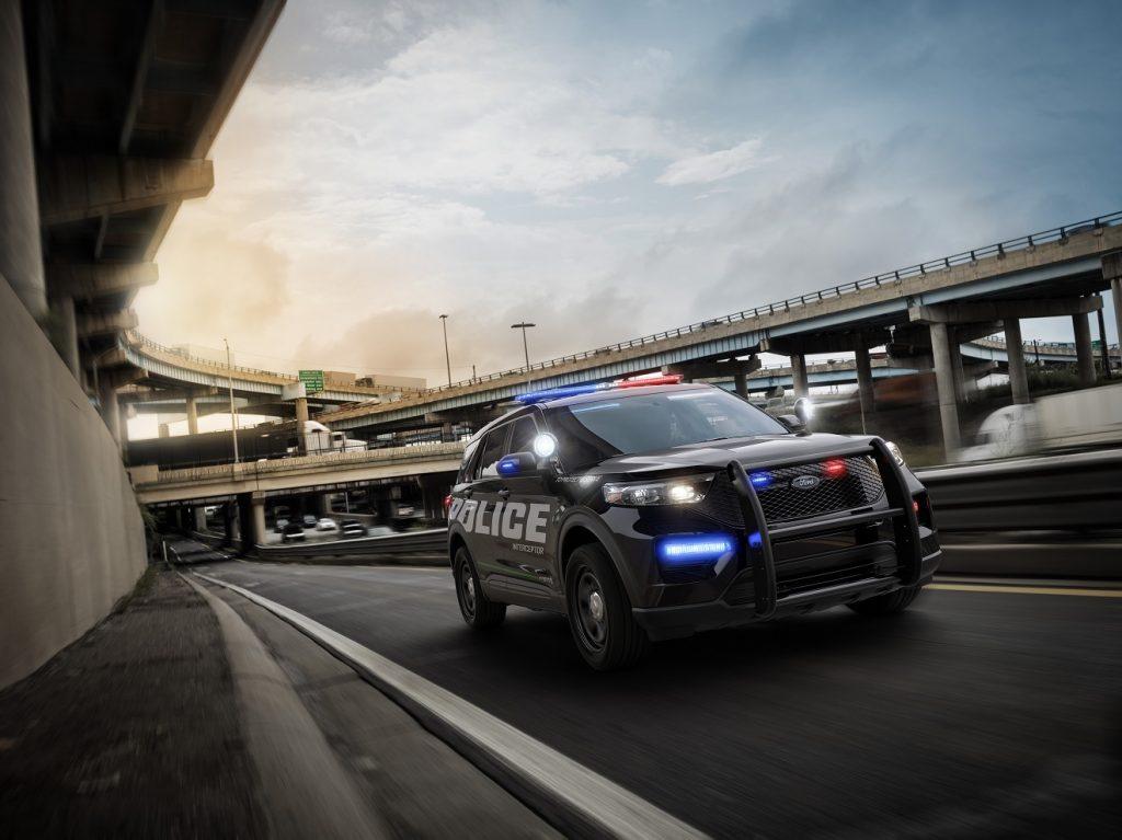 2020 Ford Explorer Police Interceptor Utility Hybrid