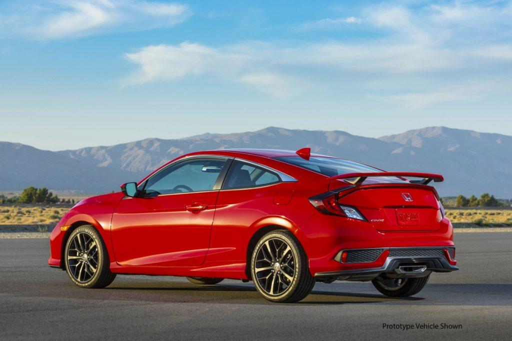 2020 Honda Civic Si Coupe | Honda