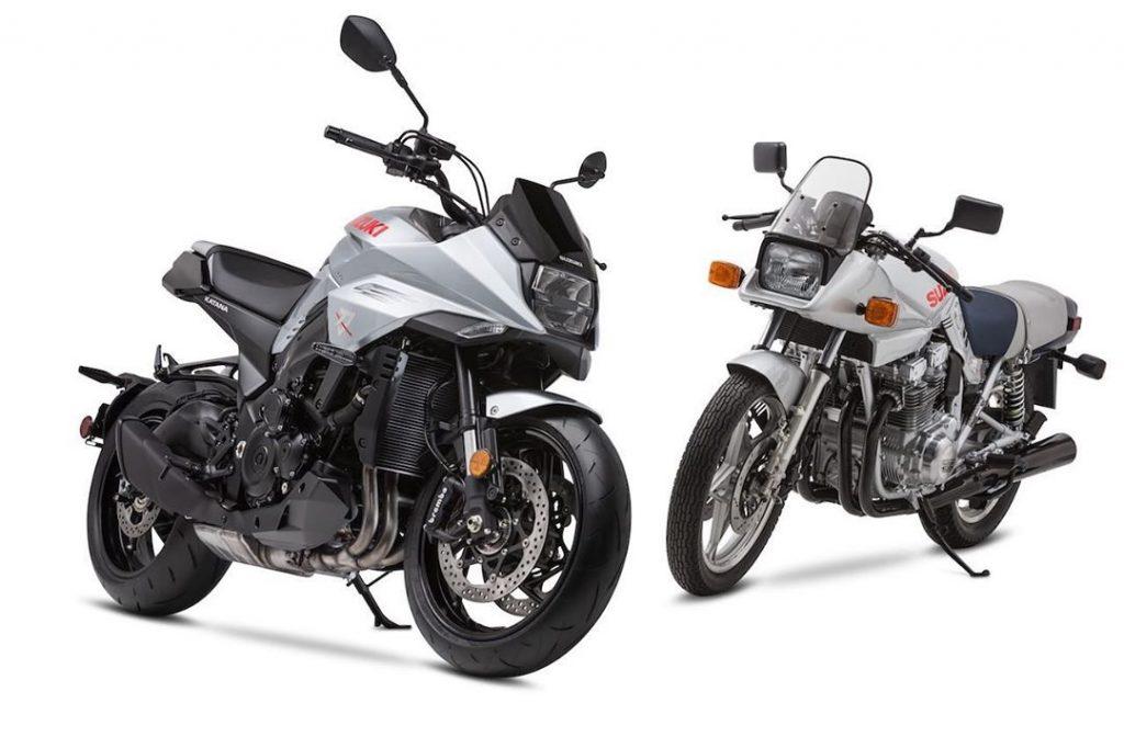 2020 Suzuki Katana and 1982 Suzuki Katana