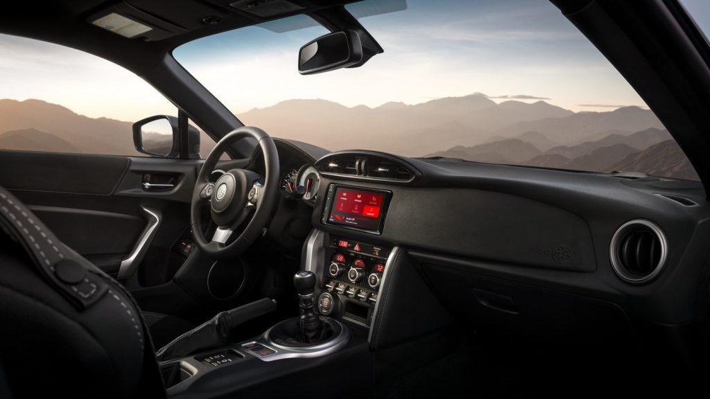 2020 Toyota 86 interior